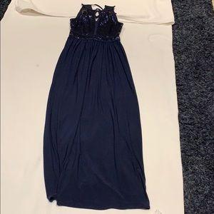 BNWOT Beautiful Blue Sequined Dress